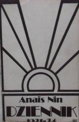 Anais Nin • Dziennik 1931-1934