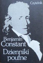 Benjamin Constant • Dzienniki poufne