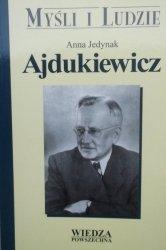 Anna Jedynak • Ajdukiewicz