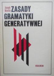 Joseph Nivette • Zasady gramatyki generatywnej