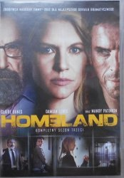 Homeland • Sezon 3 • DVD