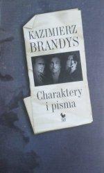 Kazimierz Brandys • Charaktery i pisma