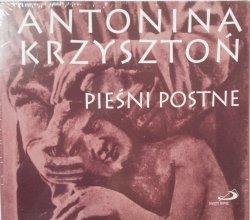 Antonina Krzysztoń • Pieśni postne • CD
