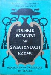 Tadeusz Chrzanowski, Marian Kornecki • Polskie pomniki w świątyniach Rzymu