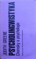 Judith Greene • Psycholingwistyka. Chomsky a psychologia