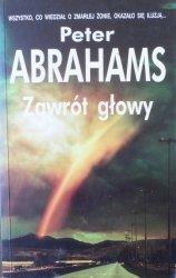 Peter Abrahams • Zawrót głowy