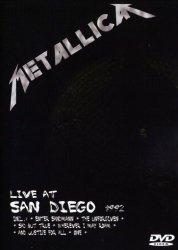 Metallica • Live at San Diego 1992 • DVD