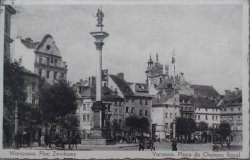 Warszawa. Plac zamkowy. Fot. Smogorzewski