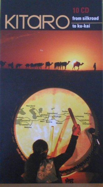 Kitaro • From Silkroad to Ku-Kai • 10CD