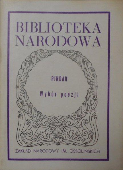 Pindar • Wybór poezji