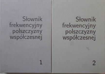 Zygmunt Saloni • Słownik frekwencyjny polszczyzny współczesnej