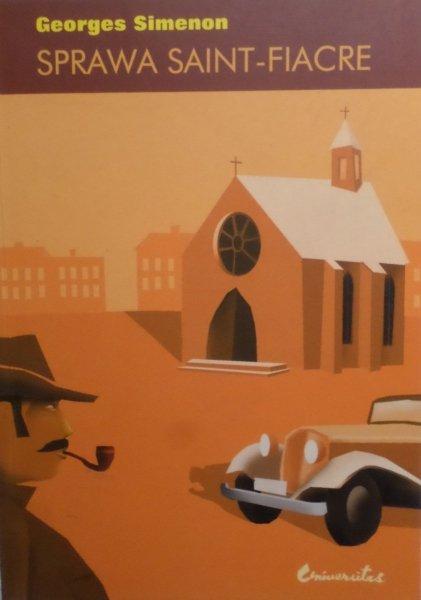 Georges Simenon • Sprawa Saint-Fiacre