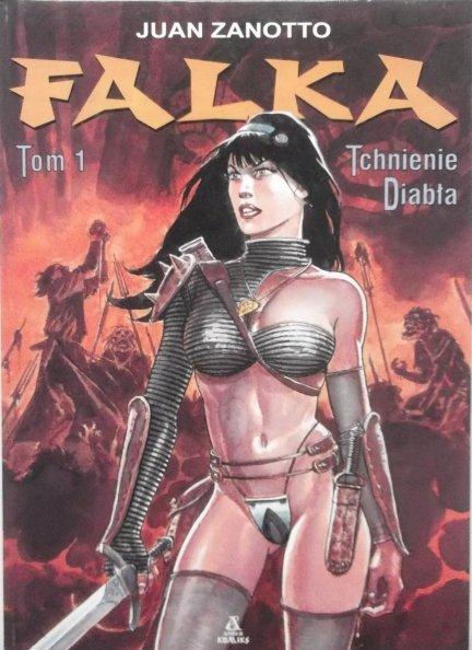 Juan Zanotto • Falka tom 1 Tchnienie diabła