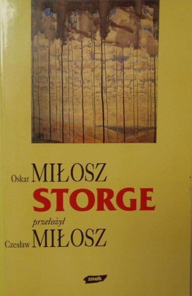 Oskar Miłosz • Storge