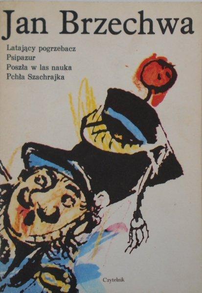Jan Brzechwa • Latający pogrzebacz. Psipazur il. Szancer