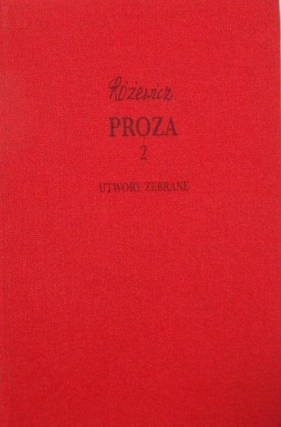 Tadeusz Różewicz • Proza 2