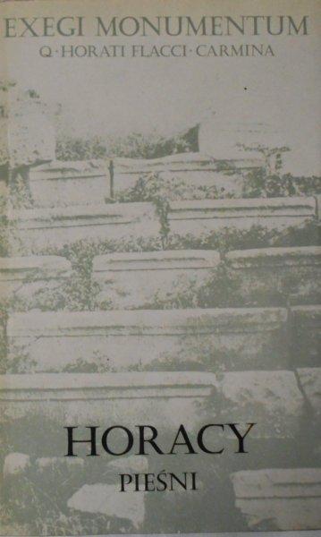 Horacy • Pieśni. Exegi Monumentum