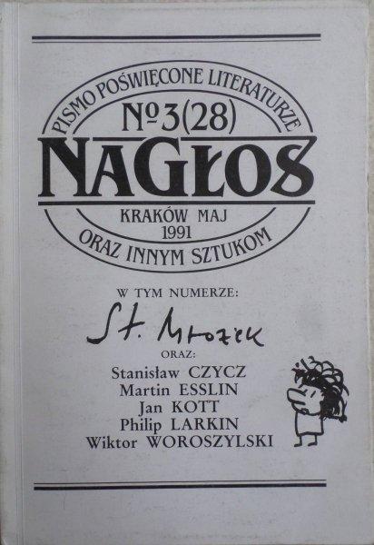Nagłos nr 3/1991 • Mrożek Czycz Larkin
