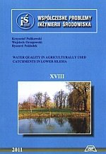 Water quality in agriculturally used catchments in lower silesia