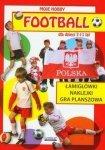 Football dla dzieci 7-11 lat Łamigłówki Naklejki Gra planszowa