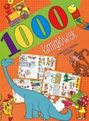 1000 łamigłówek Zagadki nauka zabawa