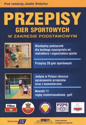 Przepisy gier sportowych w zakresie podstawowym
