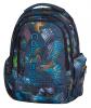 Plecak szkolny młodzieżowy COOLPACK LEADER 2 gra świateł, LIGHTS SPLASH 812 (75121)