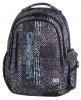Plecak szkolny młodzieżowy COOLPACK LEADER 2 czarno - biały, MONOCHROMATIC 826 (75503)