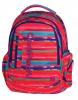 Plecak szkolny młodzieżowy COOLPACK LEADER 2 w kolorowe paski, TEXTURE STRIPES 734 (72960)