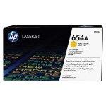 HP oryginalny toner CF332A, yellow, 15000s, HP 654A, HP Color LaserJet Enterprise M651dn, M651n, M651xh