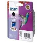 Epson oryginalny ink C13T08014021, black, blistr z ochroną, 7,4ml, Epson Stylus Photo PX700W, 800FW, R265, 285, 360, RX560