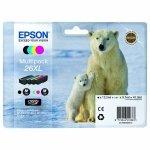 Epson oryginalny ink C13T26364020, T263640, 26XL, CMYK, 3x9,7/12,2ml, Epson Expression Premium XP-800, XP-700, XP-600