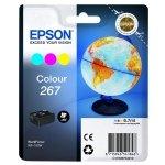 Epson oryginalny ink C13T26704010, 267, color, 6,7ml, Epson WF-100W