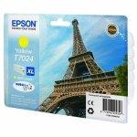 Epson oryginalny ink C13T70244010, XL, yellow, 2000s, Epson WorkForce Pro WP4000, 4500 series