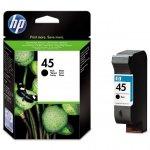 HP oryginalny ink 51645AE, HP 45, black, 930s, 42ml, HP DeskJet 850, 970Cxi, 1100, 1200, 1600, 6122, 6127
