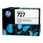 HP oryginalny Zestaw do wymiany głowicy B3P06A, HP 727, CMYK, HP DesignJet T1500, T2500, T920