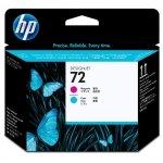 HP oryginalny głowica drukująca C9383A, HP 72, magenta/cyan, HP Designjet T1100, T770