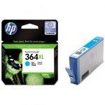 HP oryginalny ink CB323EE, HP 364XL, cyan, blistr, 750s, HP Photosmart B8550, C5380, D5460
