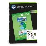 HP ink F6U78AE, HP 935XL, cyan/magenta/yellow, HP Officejet 6815, Officejet Pro 6230 ePrinter, 6830