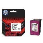 HP oryginalny ink F6V24AE, HP 652, color, blistr, 200s, HP Deskjet IA 4535, 4675, 1115, 2135, 3635, 3835