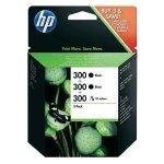 HP oryginalny ink SD518AE, HP 300, 2x black + 1x 3-color, 1x165/2x200s, HP HP DeskJet F4500