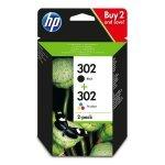 HP oryginalny ink X4D37AE, HP 302, black/tri-colour, 190 black, 165 tri-colours, HP HP Deskjet 1110/2130/3630, HP Envy 4520