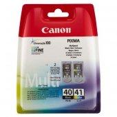 Canon oryginalny ink PG40/CL41 multipack, black/color, blistr z ochroną, 16,9ml, 0615B051, Canon iP1600, 2200, MP150, 170, 450
