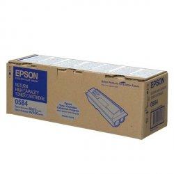 Epson oryginalny toner C13S050584, black, 8000s, return, high capacity, Epson Aculaser M2400, MX20