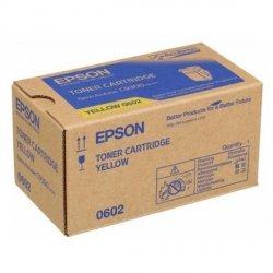 Epson oryginalny toner C13S050602, yellow, 7500s, Epson Aculaser C9300N
