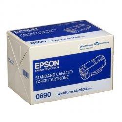 Epson oryginalny toner C13S050690, black, 2700s, Epson Aculaser M300D, M300DN