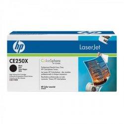 HP oryginalny toner CE250X, black, 10500s, HP Color LaserJet CP3525
