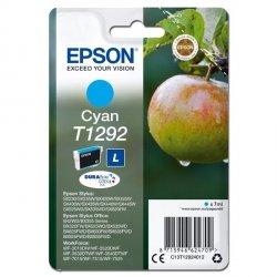Epson oryginalny ink C13T12924012, T1292, cyan, 485s, 7ml, Epson Stylus SX420W, 425W, Stylus Office BX305F, 320FW