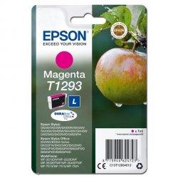 Epson oryginalny ink C13T12934012, T1293, magenta, 485s, 7ml, Epson Stylus SX420W, 425W, Stylus Office BX305F, 320FW