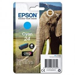 Epson oryginalny ink C13T24224012, T2422, cyan, 4,6ml, Epson